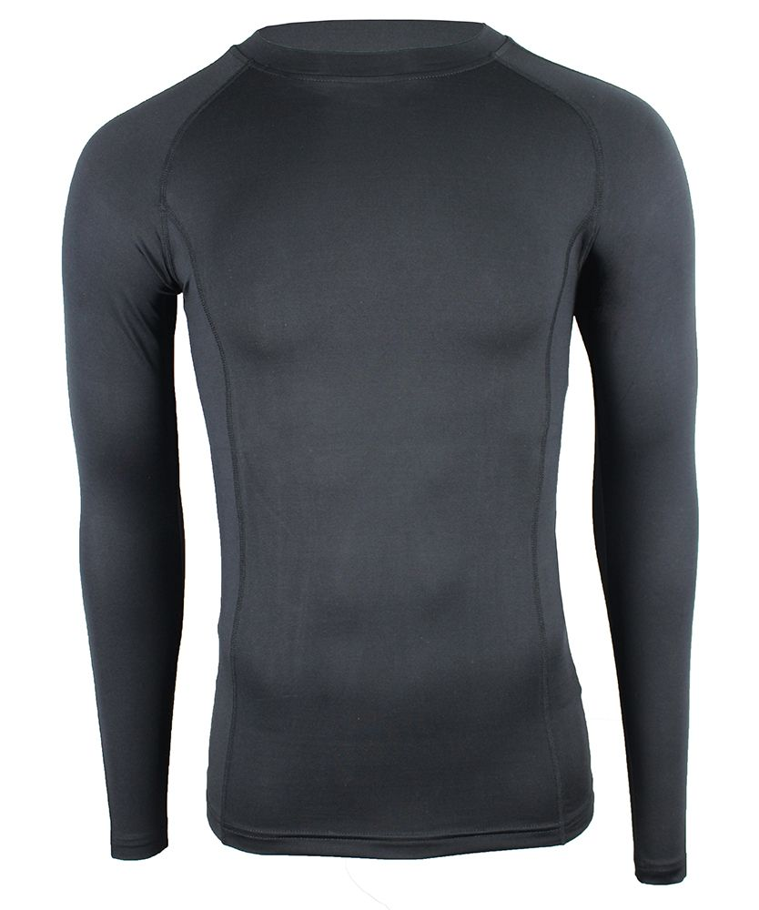 All Purpose Long Sleeve Black Base Layer