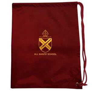 All Saints Primary School Dovercourt Side Drawstring Bag