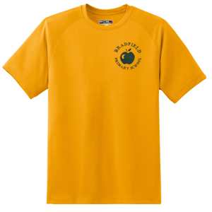 Bradfield Primary Gold T-Shirt