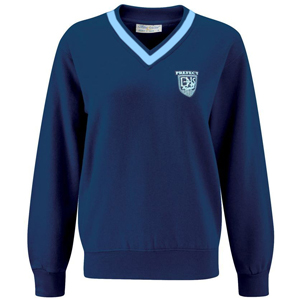 Diss High School V-Neck Prefect Sweatshirt