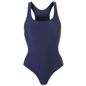 Girls Navy Swimming Costume