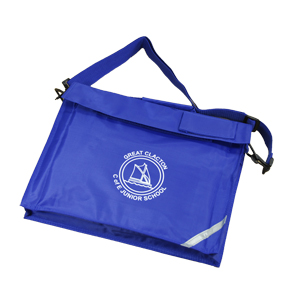 Great Clacton Junior School Book Bag with Strap