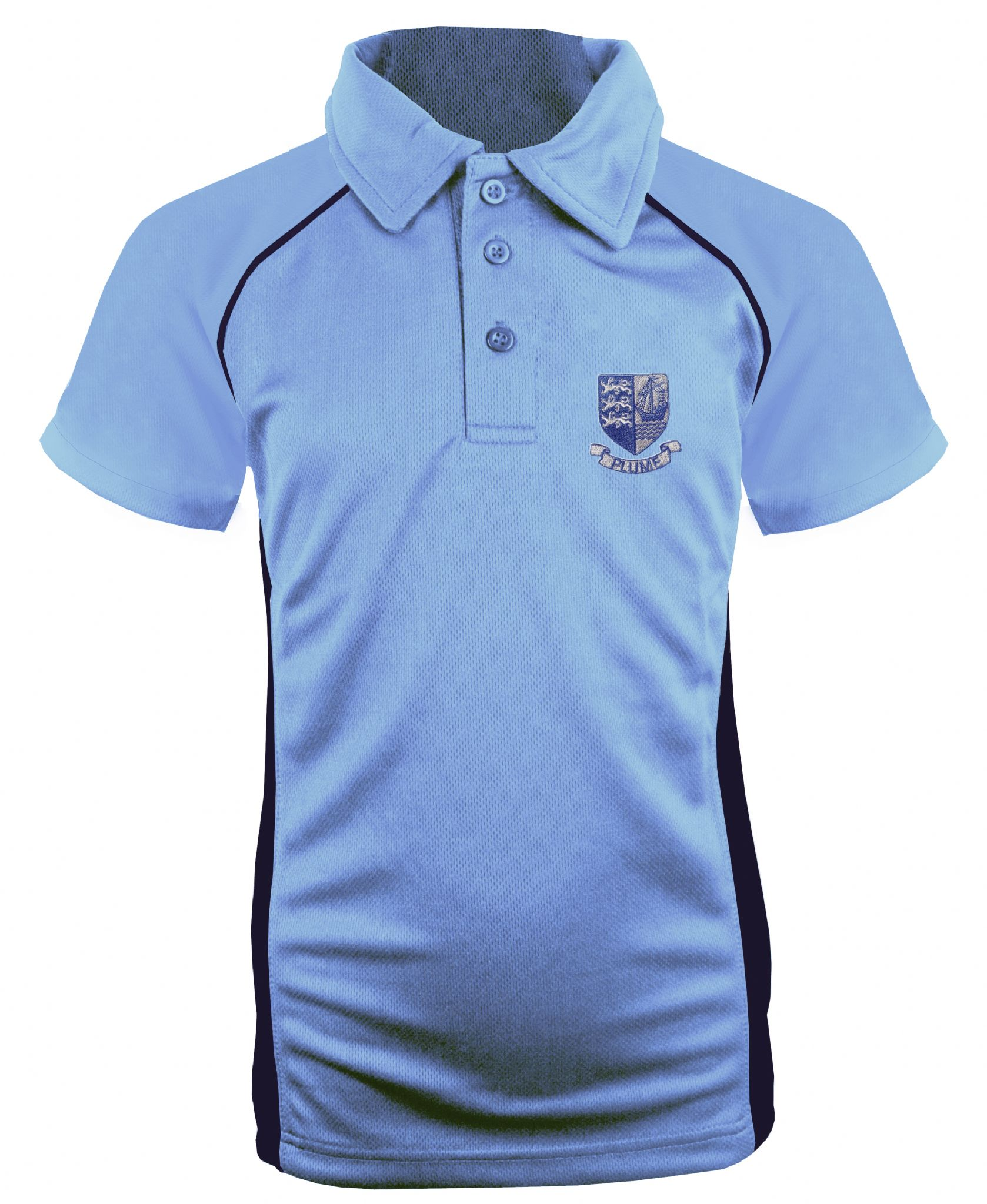 Plume School Year 7-9 Girls Fitted Sports Polo Shirt