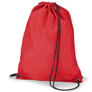 Primary School Red Gym Bag