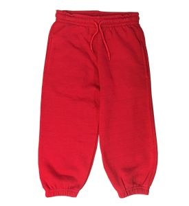 Red  Primary School Jogging Bottoms