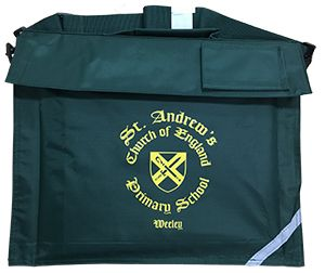 St Andrew's CE Primary Book Bag with Strap