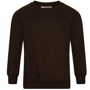 St Clare's Brown Sweatshirt