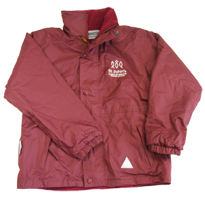 St John's Primary Reversible Waterproof Jacket