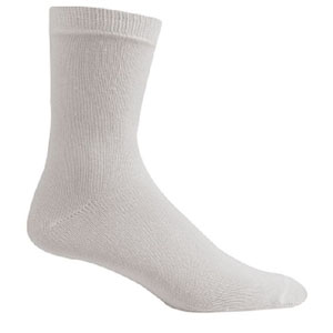 Unisex Twin Pack White Sports Socks